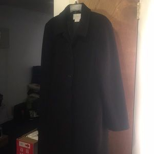 Worthington sz XL Dark Gray Wool coat
